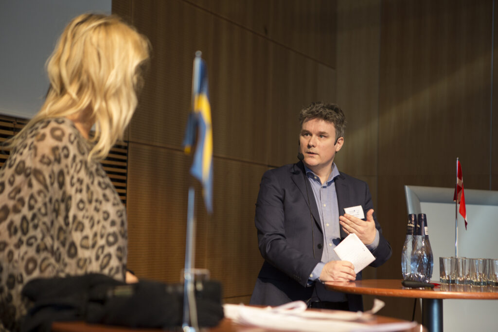 Joakim Sandell, Chairman of the Healthcare Committee SUS, Region Skåne.