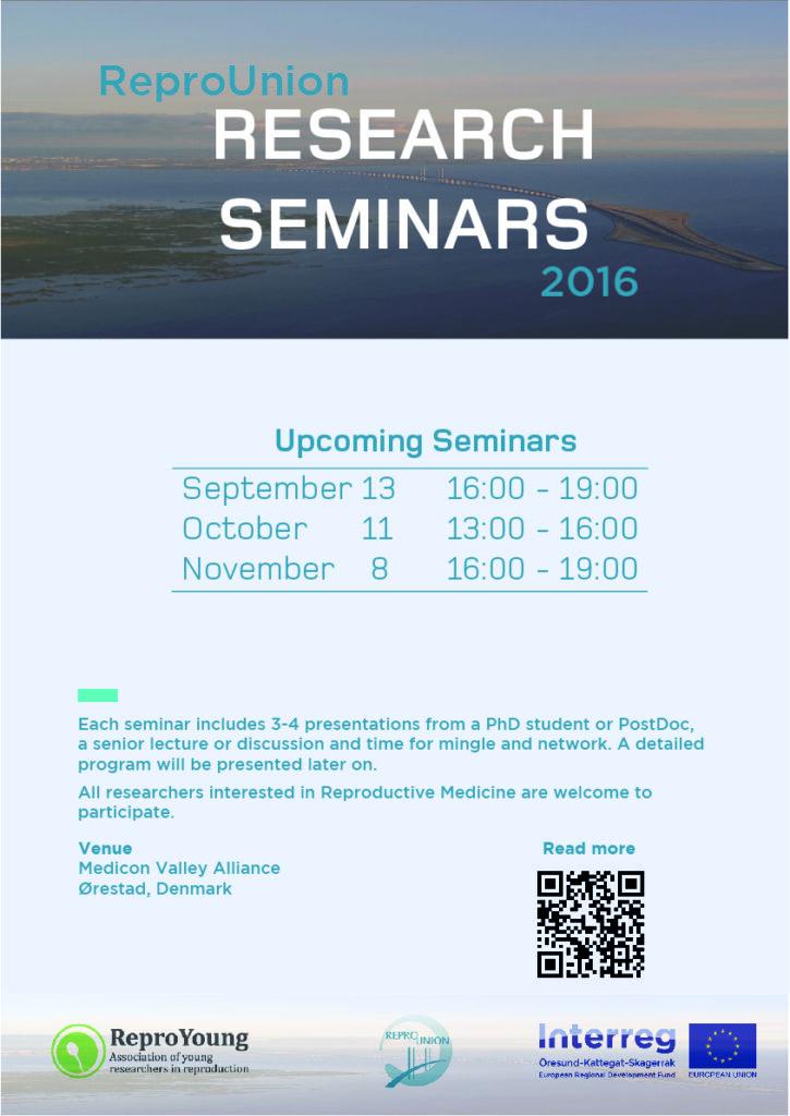 Research Seminar poster